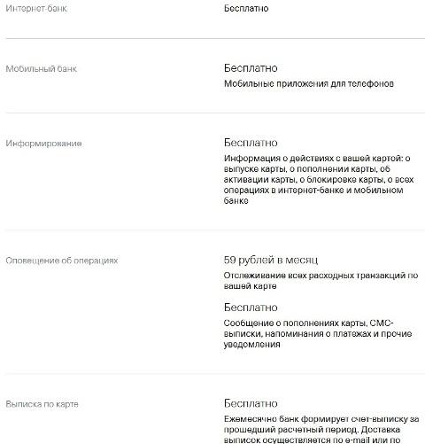 Условия кредитования по кредитной карте Тинькофф Платинум