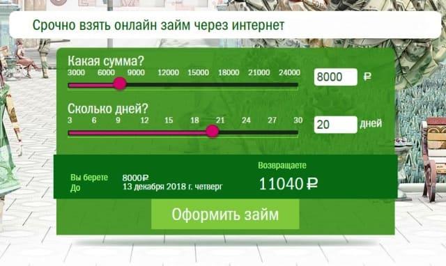 Микрозайм Грин Мани Green Money официальный сайт