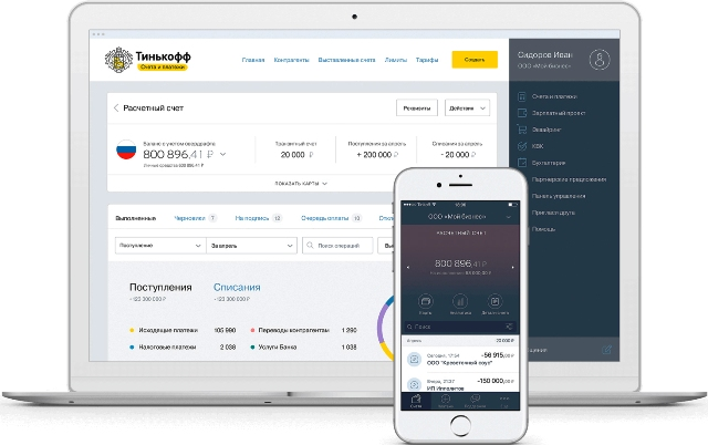 Тинькофф бизнес открыть расчетный счет для ИП