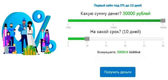 ООО МКК Веб Займ на официальном сайте