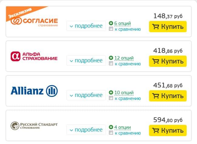 Сделать страховку на отдых за границу, сравнить цены