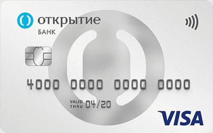Дебетовая карта Банка Открытие Opencard Премиум