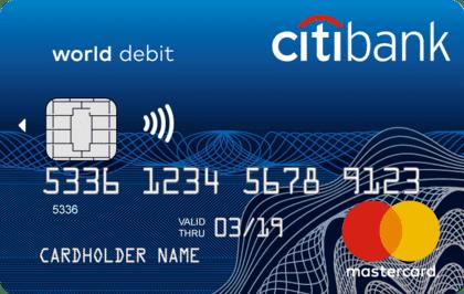 Citibank - дебетовая карта CitiOne+